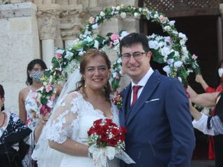 La boda de Virginia y David