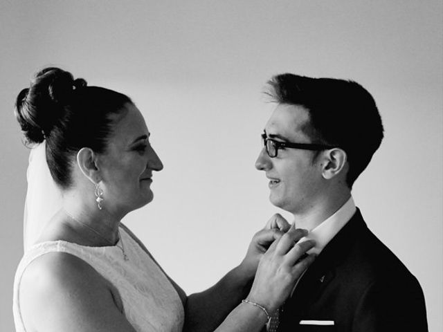 La boda de Javier y Adriana en Alcanadre, La Rioja 8