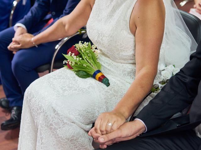 La boda de Javier y Adriana en Alcanadre, La Rioja 13