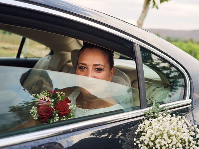 La boda de Javier y Adriana en Alcanadre, La Rioja 17