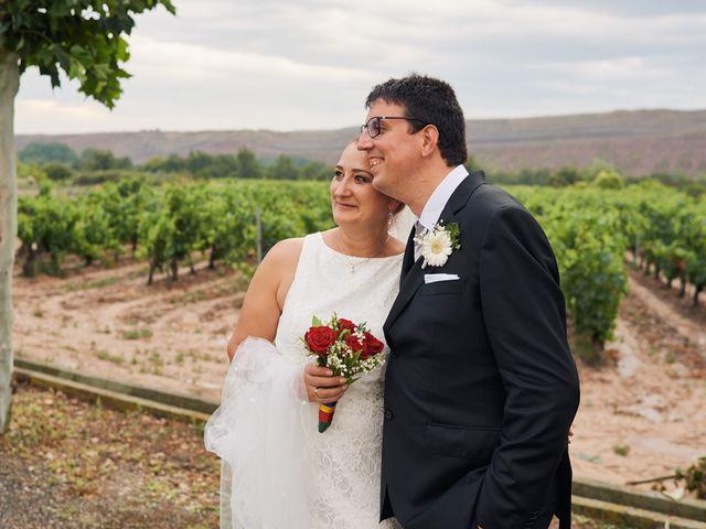 La boda de Javier y Adriana en Alcanadre, La Rioja 18