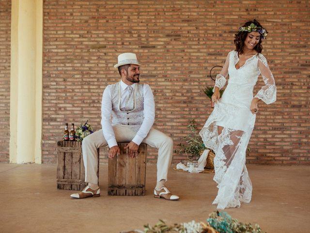 La boda de Javier y Vanessa en El Saler, Valencia 1