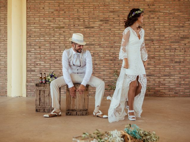 La boda de Javier y Vanessa en El Saler, Valencia 4