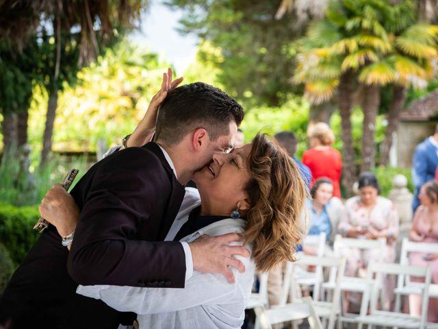 La boda de Fede y Andrea en Ponteareas, Pontevedra 17