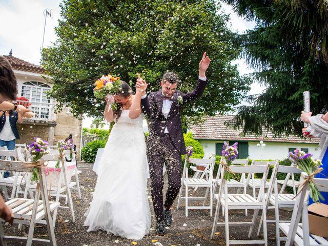 La boda de Fede y Andrea en Ponteareas, Pontevedra 26