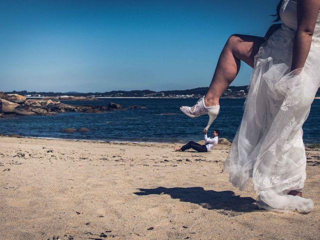 La boda de Fede y Andrea en Ponteareas, Pontevedra 45