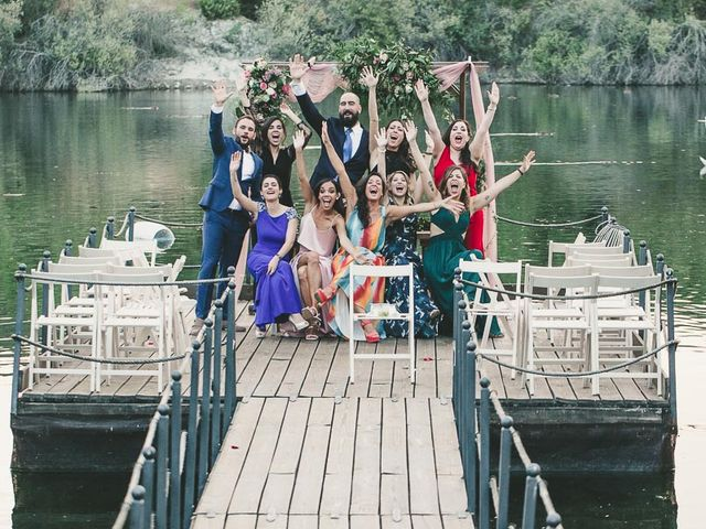 La boda de Fran y Noelia en Guadarrama, Madrid 62
