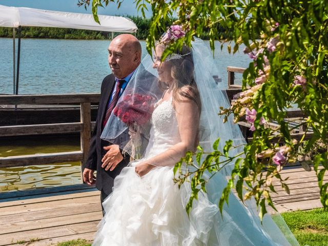 La boda de David y Karina en El Saler, Valencia 34