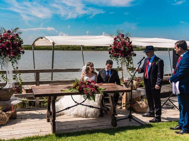 La boda de David y Karina en El Saler, Valencia 37
