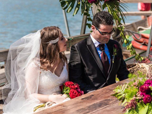 La boda de David y Karina en El Saler, Valencia 40