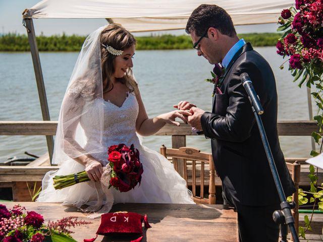 La boda de David y Karina en El Saler, Valencia 43