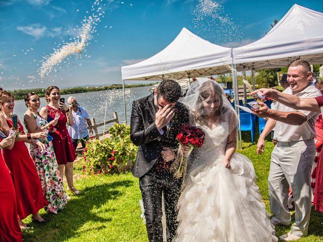 La boda de David y Karina en El Saler, Valencia 45