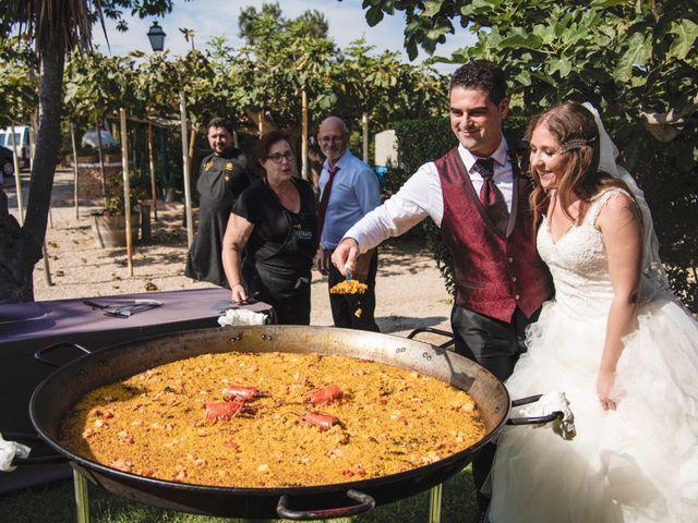 La boda de David y Karina en El Saler, Valencia 77