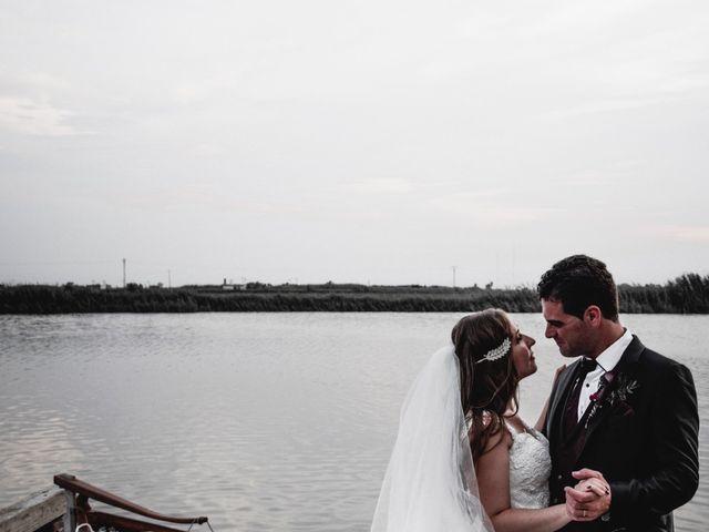 La boda de David y Karina en El Saler, Valencia 2