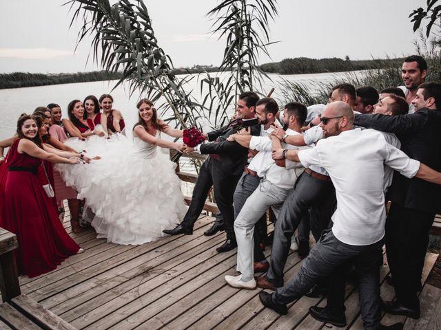 La boda de David y Karina en El Saler, Valencia 92