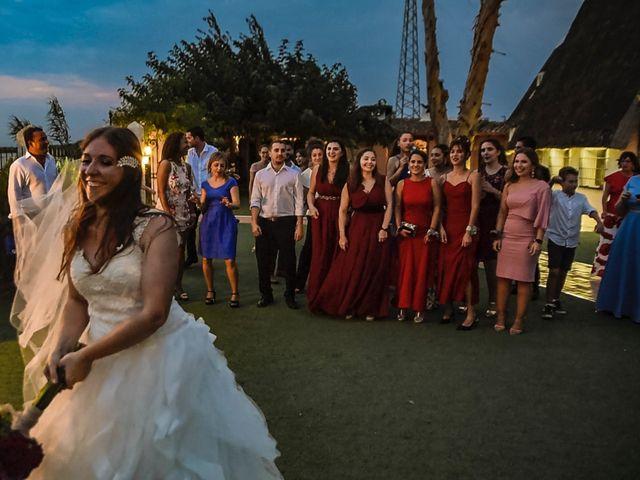 La boda de David y Karina en El Saler, Valencia 96