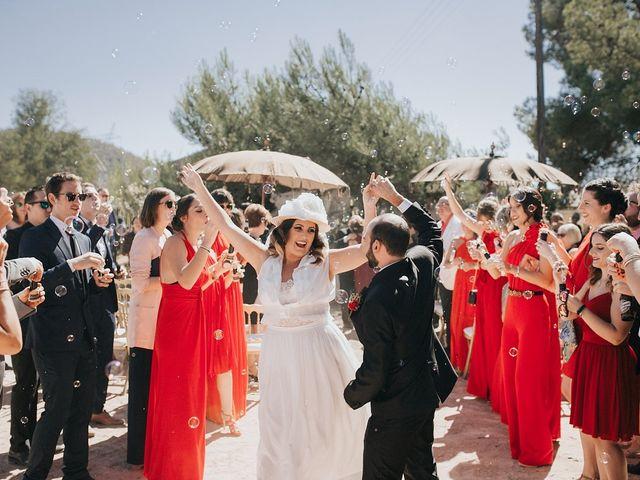 La boda de Óscar y Almudena en Madara, Alicante 65