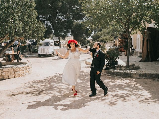 La boda de Óscar y Almudena en Madara, Alicante 78