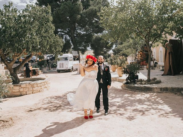 La boda de Óscar y Almudena en Madara, Alicante 79