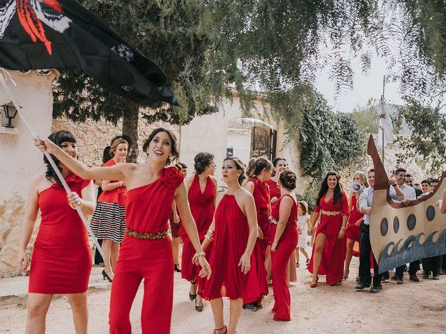 La boda de Óscar y Almudena en Madara, Alicante 93