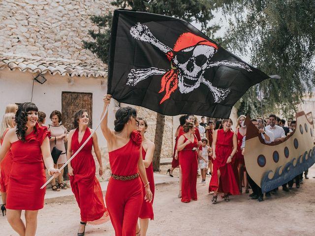 La boda de Óscar y Almudena en Madara, Alicante 94