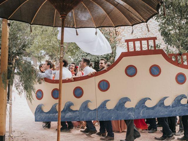 La boda de Óscar y Almudena en Madara, Alicante 95