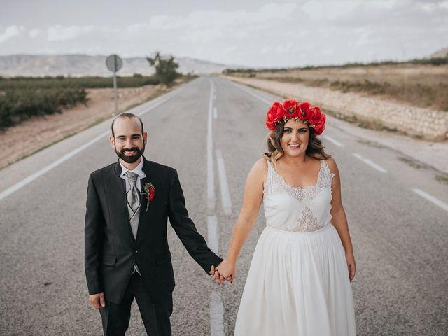 La boda de Óscar y Almudena en Madara, Alicante 101