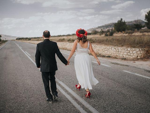La boda de Óscar y Almudena en Madara, Alicante 102
