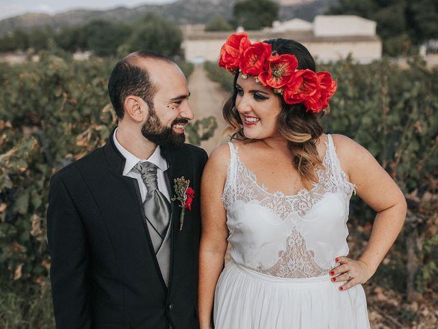 La boda de Óscar y Almudena en Madara, Alicante 106