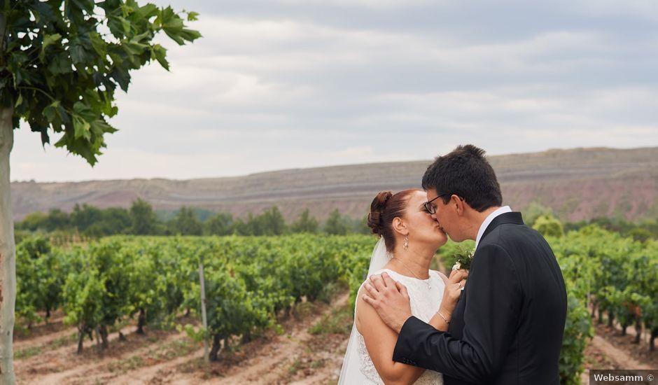 La boda de Javier y Adriana en Alcanadre, La Rioja