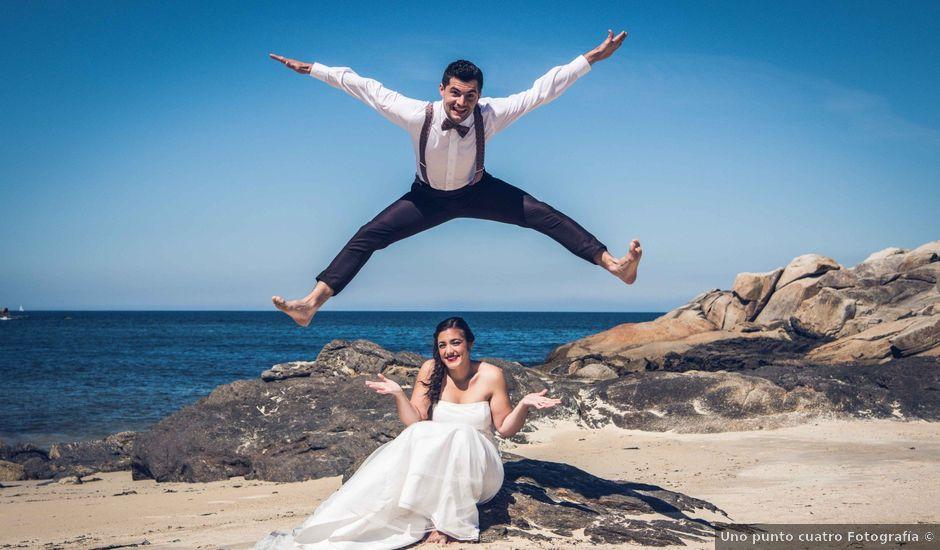La boda de Fede y Andrea en Ponteareas, Pontevedra