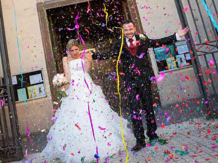 La boda de Alba y David