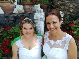 La boda de Elisa y Cathaysa