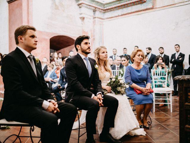 La boda de Juanma y Minna en Cazalla De La Sierra, Sevilla 19