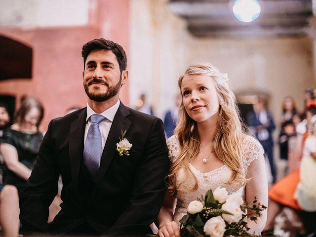 La boda de Juanma y Minna en Cazalla De La Sierra, Sevilla 20