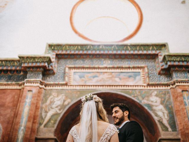 La boda de Juanma y Minna en Cazalla De La Sierra, Sevilla 22