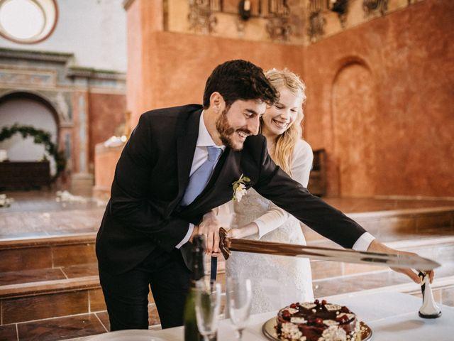 La boda de Juanma y Minna en Cazalla De La Sierra, Sevilla 61