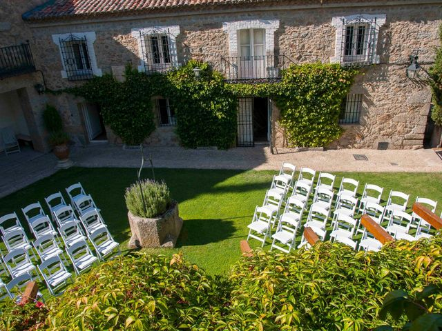 La boda de Dani y Laura en El Escorial, Madrid 3