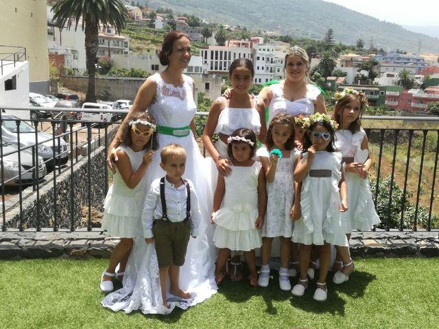 La boda de Cathaysa  y Elisa en La Victoria De Acentejo, Santa Cruz de Tenerife 4
