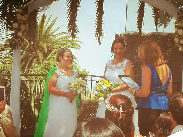 La boda de Cathaysa  y Elisa en La Victoria De Acentejo, Santa Cruz de Tenerife 6