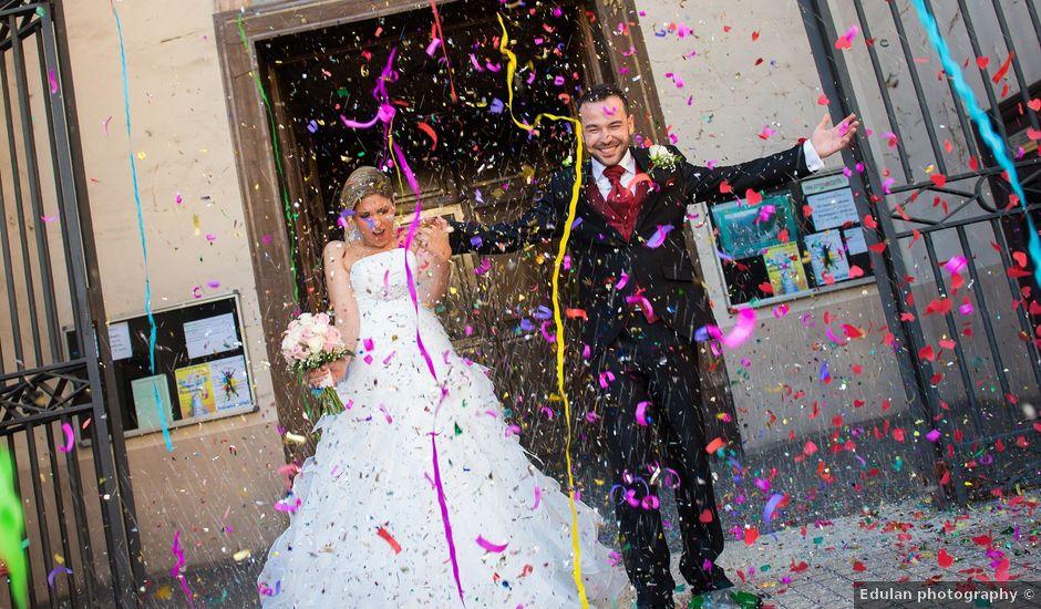 La boda de David y Alba en Pedrola, Zaragoza