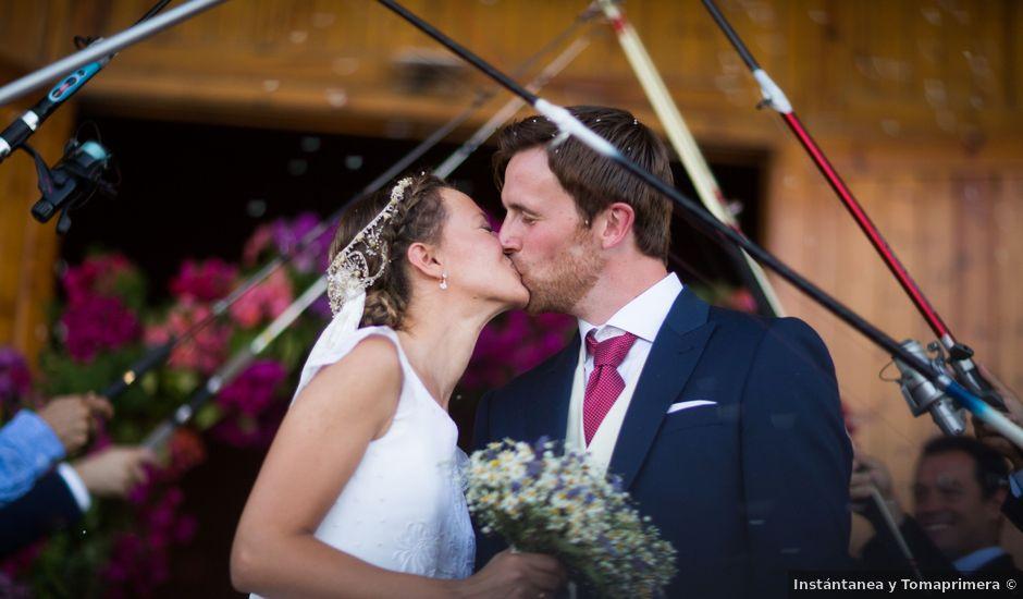 La boda de Anders y Ana en La Manga Del Mar Menor, Murcia