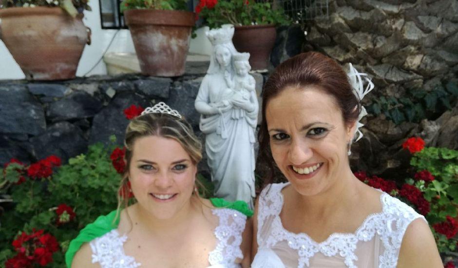 La boda de Cathaysa  y Elisa en La Victoria De Acentejo, Santa Cruz de Tenerife