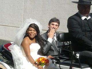La boda de Juan Antonio y Luciane Aparecida 3