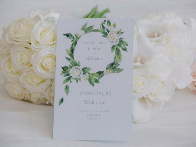 La boda de Charline  y Sebastian  en Benalmadena Costa, Málaga 11