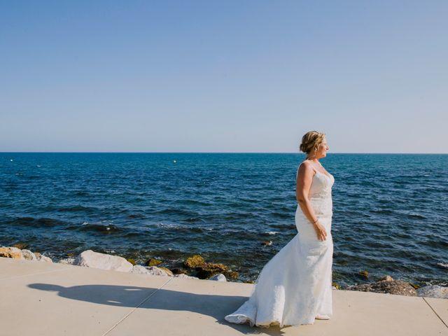 La boda de Charline  y Sebastian  en Benalmadena Costa, Málaga 17