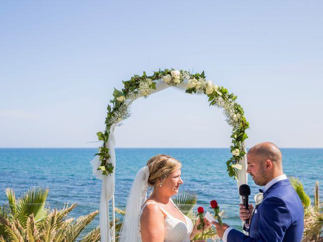 La boda de Charline  y Sebastian  en Benalmadena Costa, Málaga 21