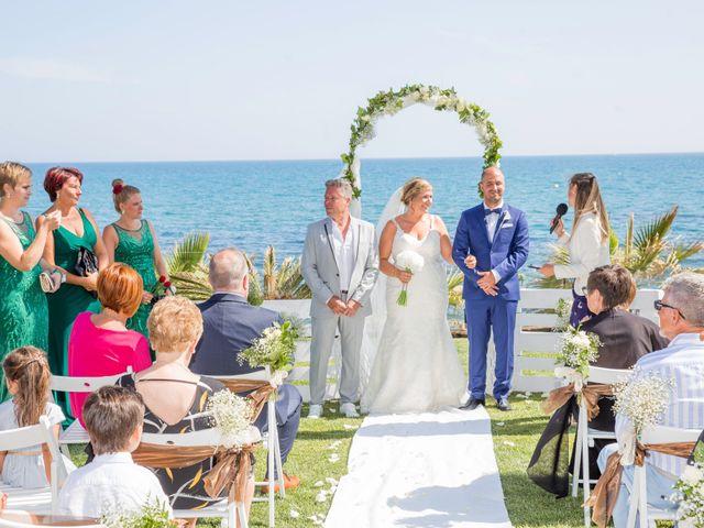 La boda de Charline  y Sebastian  en Benalmadena Costa, Málaga 22
