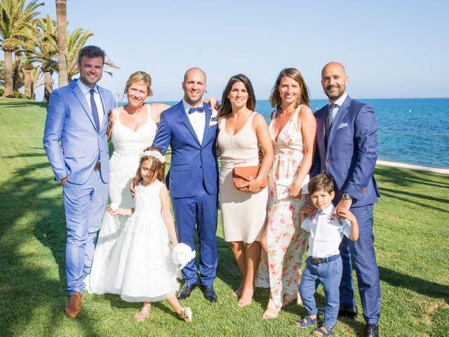 La boda de Charline  y Sebastian  en Benalmadena Costa, Málaga 23