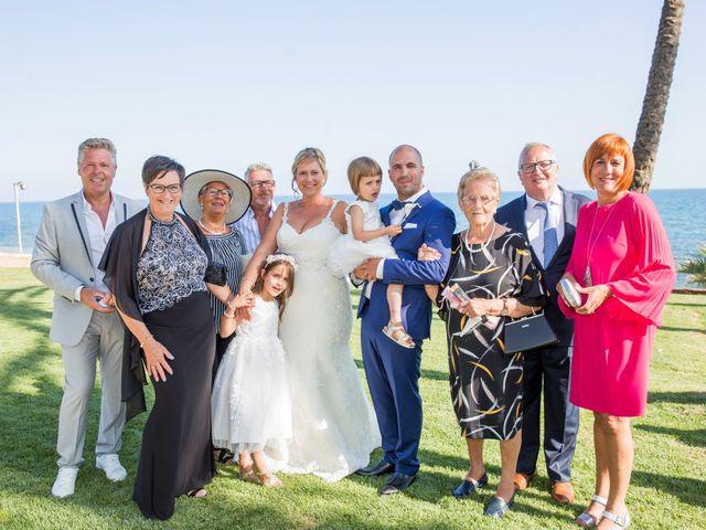La boda de Charline  y Sebastian  en Benalmadena Costa, Málaga 24
